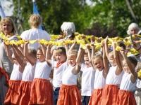 044 Jänesselja lasteaia IV laulu- ja tantsupidu. Foto: Urmas Saard