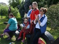 053 Jänesselja lasteaia IV laulu- ja tantsupidu. Foto: Urmas Saard