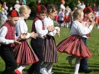 072 Jänesselja lasteaia IV laulu- ja tantsupidu. Foto: Urmas Saard