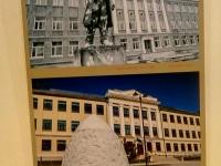 003 Praegune Jõgevamaa gümaasiumi hoone oli varem vene kool. Koolimaja ees seisnud Lenini monument värviti üle 80 aastate lõpul. Foto: Johannes Haav