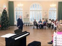 020 Jõululaupäeva jumalateenistus Raeküla Vanakooli keskuses. Foto: Urmas Saard