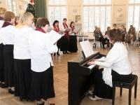 023 Jõululaupäeva jumalateenistus Raeküla Vanakooli keskuses. Foto: Urmas Saard