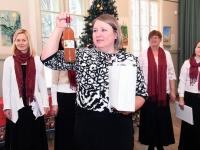 029 Jõululaupäeva jumalateenistus Raeküla Vanakooli keskuses. Foto: Urmas Saard