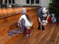009 Jõulupidu Sindi gümnaasiumis. Foto: Urmas Saard