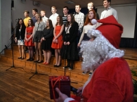 015 Jõulupidu Sindi gümnaasiumis. Foto: Urmas Saard
