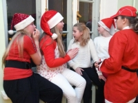 016 Jõulupidu Sindi gümnaasiumis. Foto: Urmas Saard