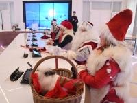 013 Jõuluvanade pressikonverents. Foto: Urmas Saard