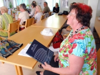 Marvi Volmer Pärnust on tulnud kuulama Julia Laffranque ettekannet