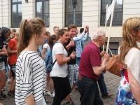 Juuni küüditamise 74. aastapäev Riias. Foto: Viire Talts