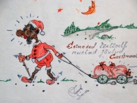 006 Kahe sõbra karikatuurid Vändras. Foto: Urmas Saard