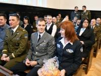 007 Kaitseliidu Pärnumaa malevas vahetusid pealikud. Foto: Urmas Saard