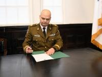 010 Kaitseliidu Pärnumaa malevas vahetusid pealikud. Foto: Urmas Saard