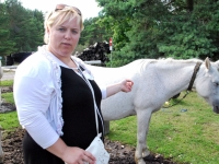 013 Margit sõbrutseb hobustega