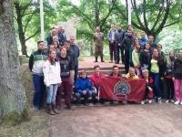 """Koostööprojekt """"Ühist ajalugu taaselustades"""" Lätis. Foto: Viire Talts"""