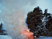 003 Jõulupuude põletamine Paikusel. Foto: Urmas Saard