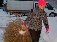006 Jõulupuude põletamine Paikusel. Foto: Urmas Saard