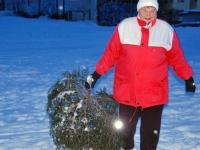 012 Jõulupuude põletamine Paikusel. Foto: Urmas Saard