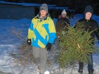 016 Jõulupuude põletamine Paikusel. Foto: Urmas Saard