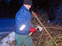 018 Jõulupuude põletamine Paikusel. Foto: Urmas Saard