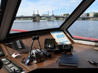 007 Laevasõidul Pärnu jõel. Foto: Urmas Saard