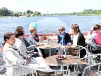037 Laevasõidul Pärnu jõel. Foto: Urmas Saard