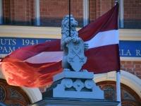 008 Läti Vabariigi sajanda juubeli Riia. Foto: Urmas Saard