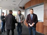011 Linnapea kandidaadid Pärnu väärikate ees. Foto: Urmas Saard