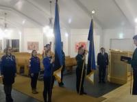 001 Lippude õnnistamine Viimsi Jakobi kirikus. Foto: erakogu