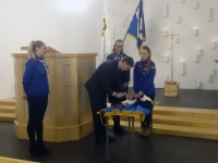 004 Lippude õnnistamine Viimsi Jakobi kirikus. Foto: erakogu