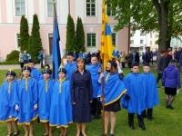 017 Lipu päeva tähistamine Kuberneri aias. Foto: Marko Šorin