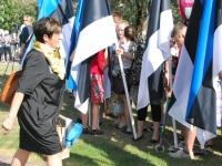 004 Lipu päeva tähistamine Rüütli platsil ja rongkäiguga. Foto: Urmas Saard