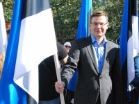 005 Lipu päeva tähistamine Rüütli platsil ja rongkäiguga. Foto: Urmas Saard