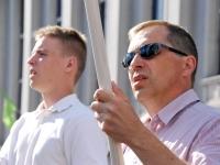 008 Lipu päeva tähistamine Rüütli platsil ja rongkäiguga. Foto: Urmas Saard