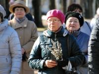 005 Lüdigi lauljad tervitavad kevadet Tallinna väravate all. Foto: Urmas Saard