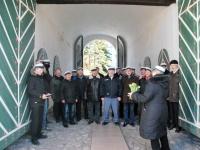 010 Lüdigi lauljad tervitavad kevadet Tallinna väravate all. Foto: Urmas Saard