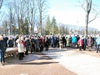 012 Lüdigi lauljad tervitavad kevadet Tallinna väravate all. Foto: Urmas Saard