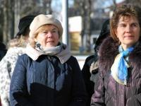 013 Lüdigi lauljad tervitavad kevadet Tallinna väravate all. Foto: Urmas Saard