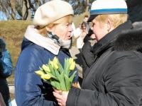 014 Lüdigi lauljad tervitavad kevadet Tallinna väravate all. Foto: Urmas Saard