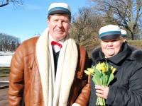 015 Lüdigi lauljad tervitavad kevadet Tallinna väravate all. Foto: Urmas Saard