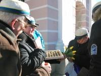017 Lüdigi lauljad tervitavad kevadet Tallinna väravate all. Foto: Urmas Saard
