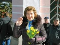 018 Lüdigi lauljad tervitavad kevadet Tallinna väravate all. Foto: Urmas Saard