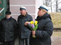 006 Lüdigi mehed laulsid kevadele. Foto: Urmas Saard
