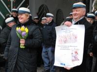 013 Lüdigi mehed laulsid kevadele. Foto: Urmas Saard