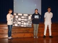 001 Maakondlik Briti päev Sindi gümnaasiumis. Foto: Maris Voltein