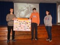 003 Maakondlik Briti päev Sindi gümnaasiumis. Foto: Maris Voltein