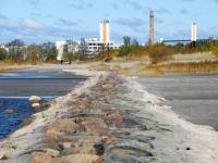 017 Madal veeseis Pärnus. Foto: Urmas Saard