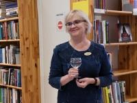 007 Made Balbati näituse avamine Sindi raamatukogus. Foto: Urmas Saard