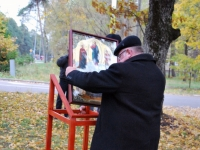 002 Mälestussammas Tšornobõli meestele. Foto: Urmas Saard