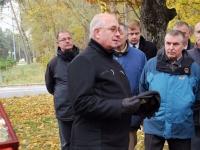014 Mälestussammas Tšornobõli meestele. Foto: Urmas Saard