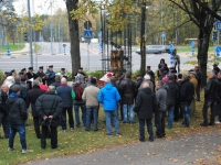 018 Mälestussammas Tšornobõli meestele. Foto: Urmas Saard